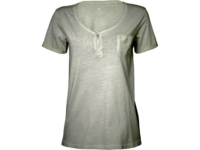 North Bend Mabel Camiseta Mujer, green lichen